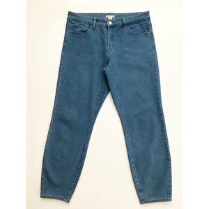 Forever 21 Ankle Jeans Blue Juniors 30